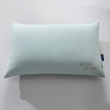 禾木家居 新型热熔枕 整张热熔棉枕芯 薄荷绿