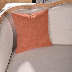 抱枕系列 北欧-雪尼尔抱枕 橙色 45*45cm 套 1