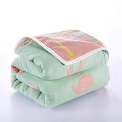 六层纱布毛巾被 50x80cm枕巾 200x240cm 动物乐园