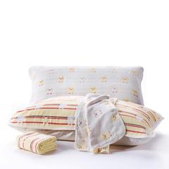 六层纱布枕巾50x80cm 小黄鸭