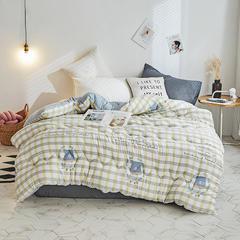 2018新款水洗棉被 1.5m(春秋被)2.6斤 维尼熊