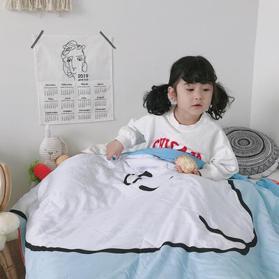 2019新款-大版儿童天丝夏被 150x200cm 亲亲宝贝