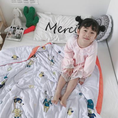 2019新款-天丝儿童夏凉被 120x150cm 喀什
