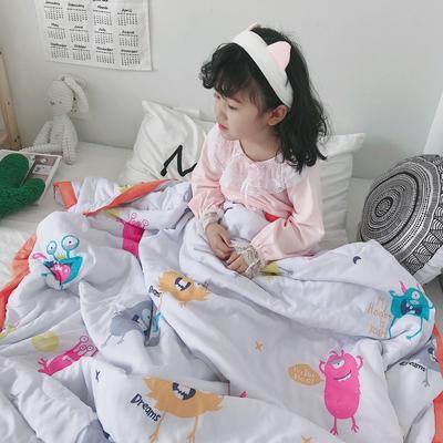 2019新款-天丝儿童夏凉被 120x150cm 狂欢伙伴