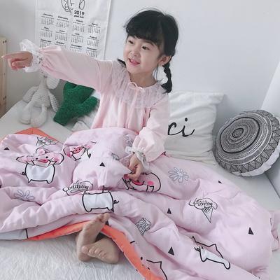 2019新款-天丝儿童夏凉被 120x150cm 小小猪