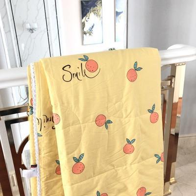 2019新款-全棉夏被 200X230cm 甜橙