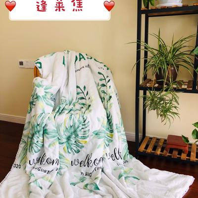 2019水洗棉夏被新款花形促销 夏被150x200cm/2斤 蓬莱焦
