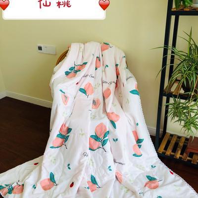 2019水洗棉夏被新款花形促销 夏被150x200cm/2斤 仙桃