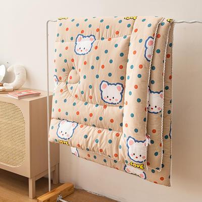 2020新款-全棉冬款系列被子被芯 150x200cm春秋3斤 栗子猫