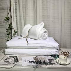 60支全棉绗缝枕芯(整张棉)-杜邦纤维超柔超低枕(48*74cm)-2019新款纯棉 杜邦纤维超柔超低枕