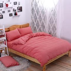 水洗棉 套件水洗棉(2)水洗棉春夏秋冬四格和新花型 1.2m床单款(床单160*230) 橘色