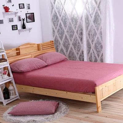 水洗棉 套件水洗棉(3)床笠款 1.2m床笠款(被套150*200) 红细条