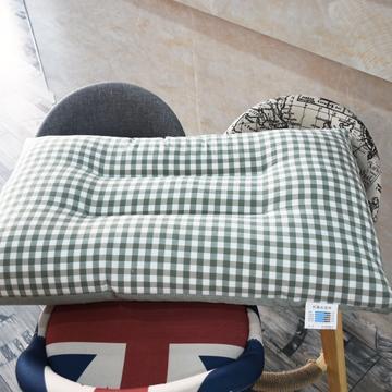 水洗棉枕芯拼色