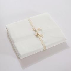 无印良品水洗棉四件套 单品床笠 135*200 纯白