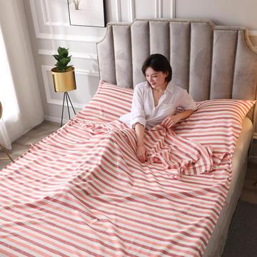2020新款全棉色织水洗棉睡袋8色