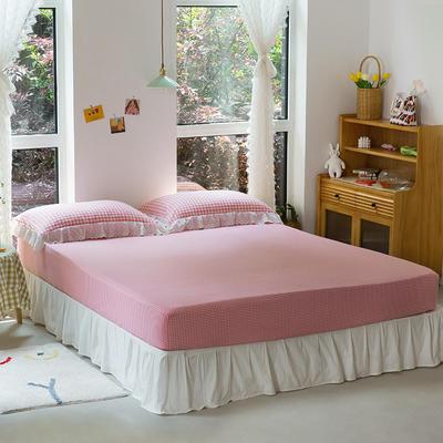 2020新款-唯美蕾丝款花边单床笠 120cmx200cm 草莓甜心