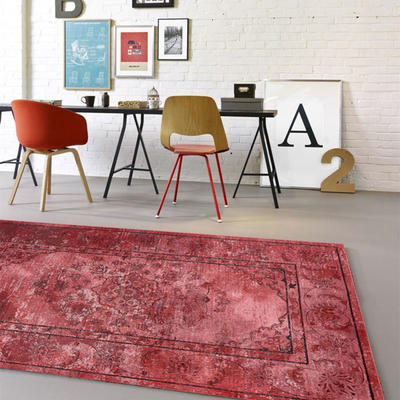地毯地垫门垫系列欧式印花地毯 A108 0.8*1.5米 1