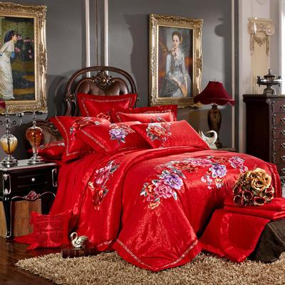 婚庆用品系列臻品款(大红) 含芯小抱枕/只 皇家至尊