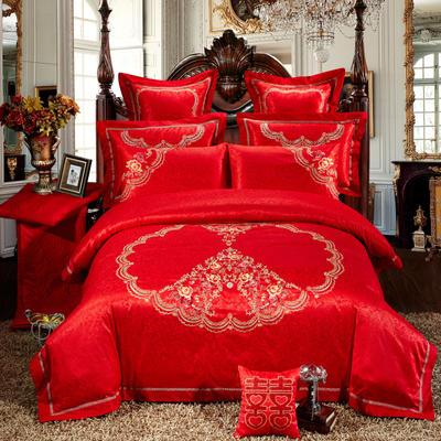 婚庆用品系列臻品款(大红) 含芯小抱枕/只 完美嫁期