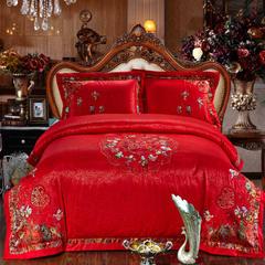 婚庆用品系列中式款(大红) 含芯小抱枕/只 百子迎福