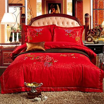 婚庆用品系列中式款(大红) 含芯小抱枕/只 富贵中国红