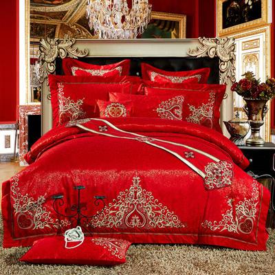 婚庆用品系列中式款(大红) 含芯小抱枕/只 皇家传奇