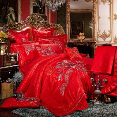 婚庆用品系列中式款(大红) 含芯小抱枕/只 皇家辉煌
