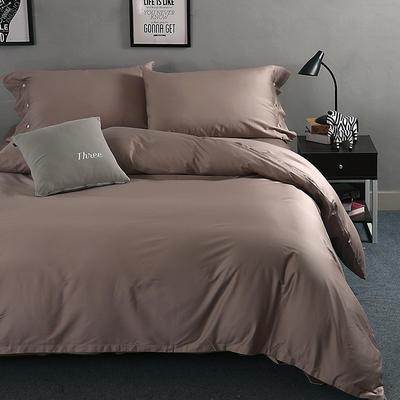 60长绒棉纯色TGH系列 1.5m床 卡布基诺咖TGH013C