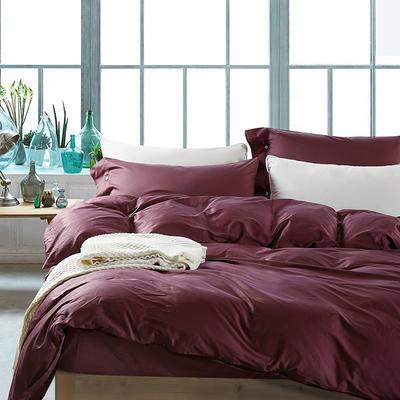 60长绒棉纯色TGH系列 1.5m床 深情紫TGH006C