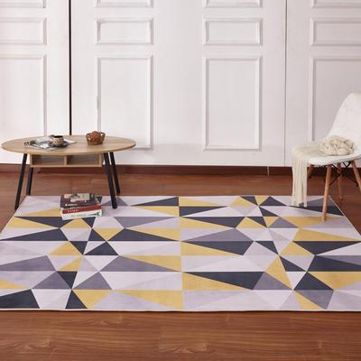新款17印花地毯 0.8*1.5米 170333A