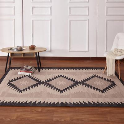 新款17印花地毯 0.8*1.5米 170429A