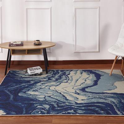 新款17印花地毯 0.8*1.5米 170643B