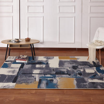 新款17印花地毯 0.8*1.5米 170707A
