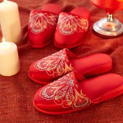 婚庆八方拖鞋 男女均码 八方 欧式风