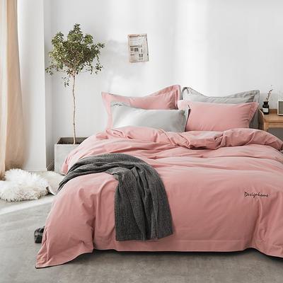2018新款2121纯色磨毛四件套 1.8m(6英尺)床 芒卡