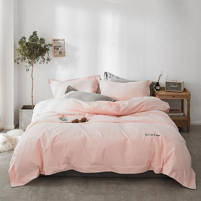 2018新款2121纯色磨毛四件套 1.8m(6英尺)床 悠乐