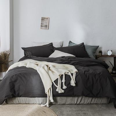 2019新款60水洗棉四件套 1.8m(6英尺)床 帛咖