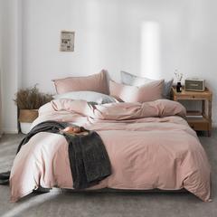 2019新款60水洗棉四件套 1.8m(6英尺)床 静粉