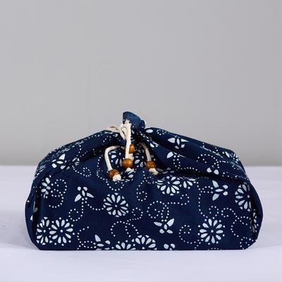 2019新款蓝印花包袱皮 小号的50cm 1