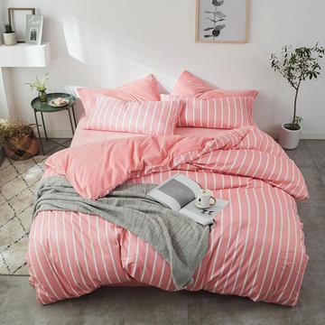 琉璃草家纺 a版棉b版水晶绒棉加绒四件套所有尺寸+10元可定做床笠款 1.0-1.2米床/三件套 白浅