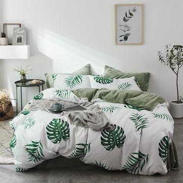 琉璃草家纺 a版棉b版水晶绒棉加绒四件套所有尺寸+10元可定做床笠款 1.0-1.2米床/三件套 往后余生