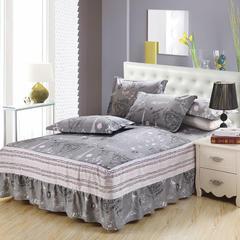 单品纯棉床罩 100*200 布拉格灰