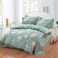 12870系列 2018新花型 纯棉床单四件套 2.0M床  定做 绚烂