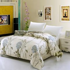 12870系列全部花型 单品纯棉被套 160*210cm(常规) 似水年华