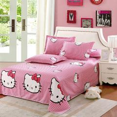 12870系列全部花型 单品纯棉床单 140*230cm(定做) 凯蒂之家