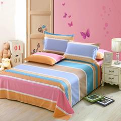 12870系列全部花型 单品纯棉床单 230*230cm(定做) 流年