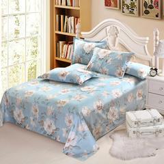 12870系列全部花型 单品纯棉床单 180*230cm(常规) 塞纳花语