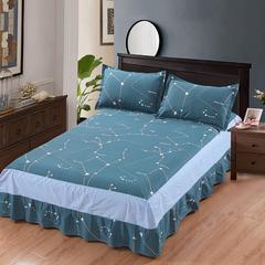 12870系列全部花型 单品纯棉床罩 135*200(定制,可退换) 哈灵顿