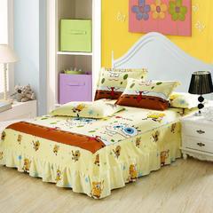 12870系列全部花型 单品纯棉床罩 200*220(定制,可退换) 海绵宝宝