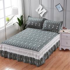 12870系列全部花型 单品纯棉床罩 100*200(定制,可退换) 花开五度